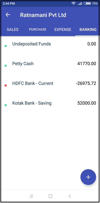 banking-transactions-zybra mobile app