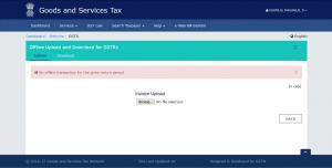 upload GSTR-1 offline form-.gst.gov.in-zybra gst accounting software