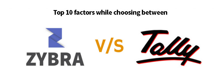 Tally ERP vs Zybra Accounting Software & App