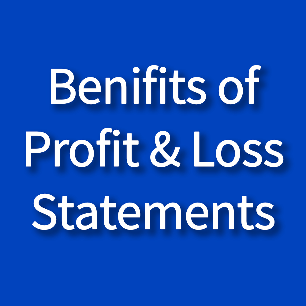 Benifits of Profit & Loss Statments - Zybra Accounting Software & App