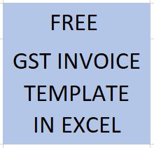 FREE GST INVOICE TEMPLATE DOWNLOAD