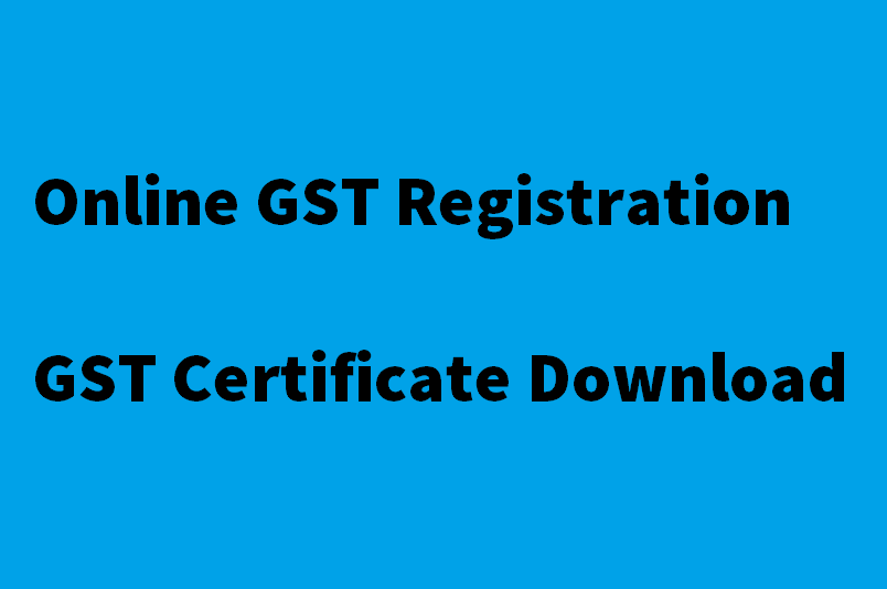 GST Registration Online & Download GST Certificate - Zybra GST Billing & Accounting Software & Mobile App