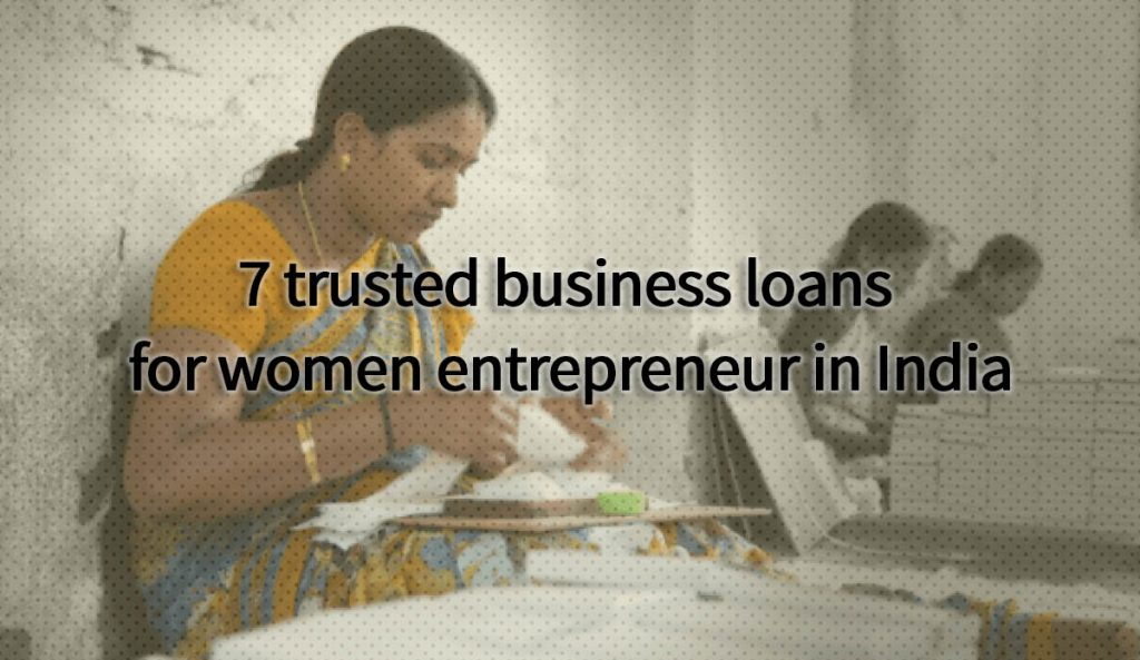 Business Loans for Women in India